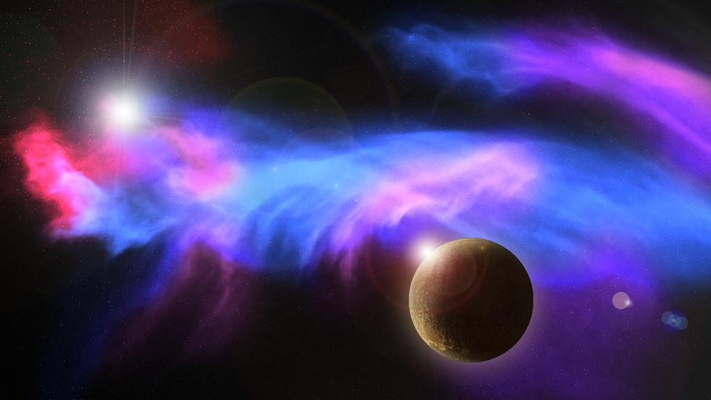 Planet and Its Nebula by Kenekochan01