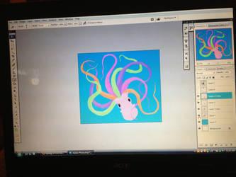 Squidgy WIP by Kenekochan01
