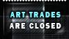 Art Status - Art Trades Closed by XxDiaLinnxX