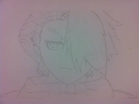 Toshiro Pencil Drawing 2