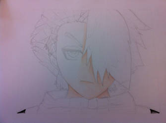 Toshiro Pencil Drawing 3 by AyumuYuki
