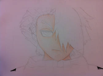 Toshiro Pencil Drawing 4 by AyumuYuki