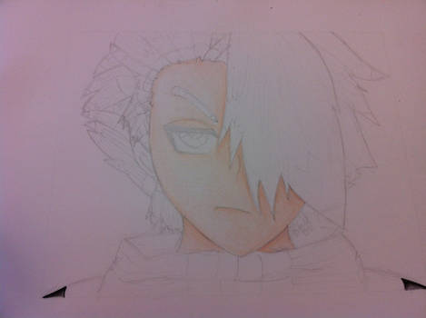 Toshiro Pencil Drawing 4