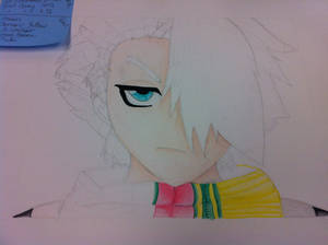 Toshiro Pencil Drawing 5