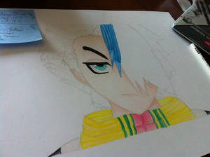 Toshiro Pencil Drawing 6