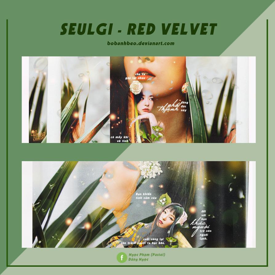 SEULGI - RED VELVET by bobanhbeo
