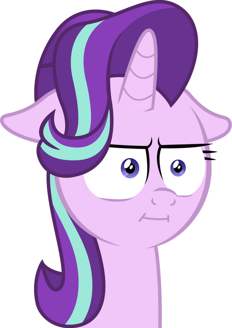 Starlight Glimmer - Oh. I see. by andrevus