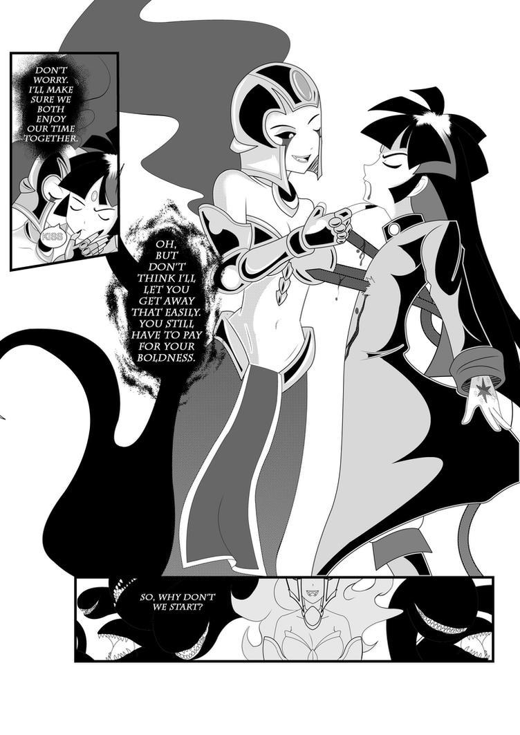 Letter 1: Page 18 by xXAngeLuciferXx