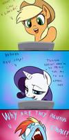 Doki doki Omake: Pony reaction