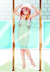 Bath time by xXAngeLuciferXx