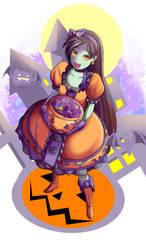 Halloween by xXAngeLuciferXx