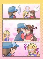 Pocky Kiss  by xXAngeLuciferXx