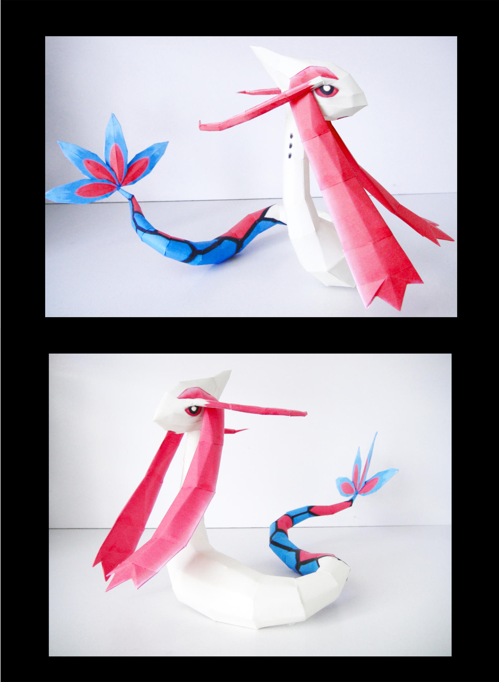 Milotic Papercraft by thepapersmith