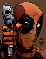 Deadpool By Comic-eeb by comic-eeb