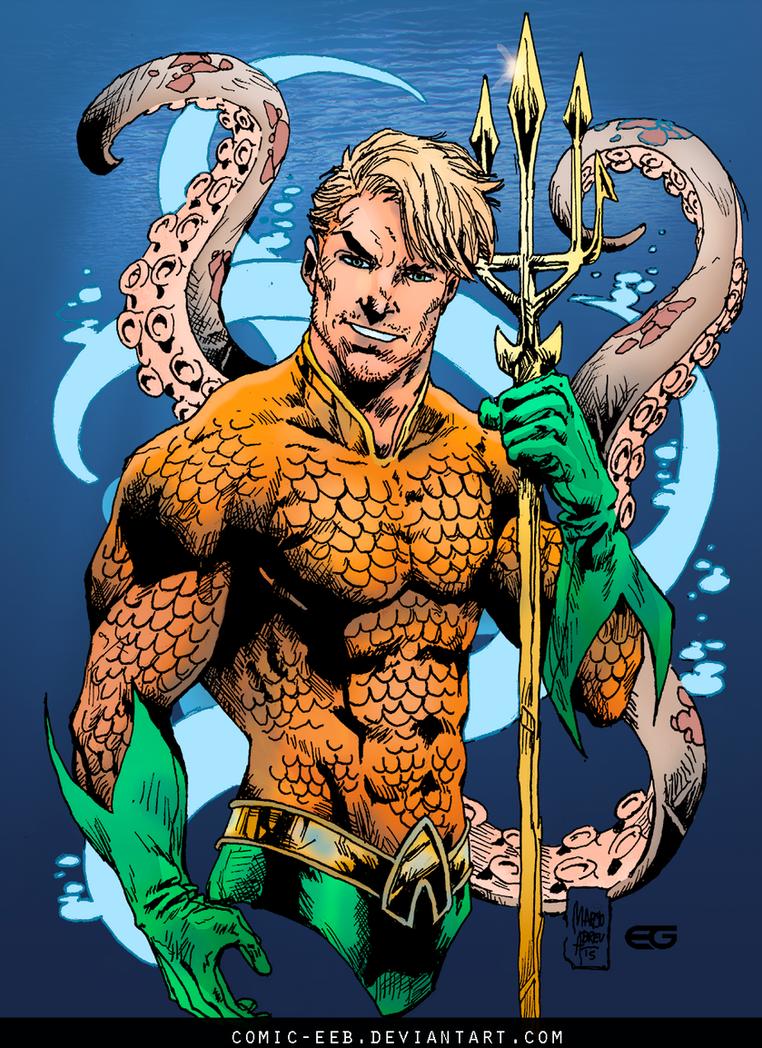 Aquaman Colors By Comic Eeb On Deviantart