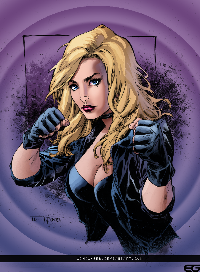 Black Canary by comic-eeb