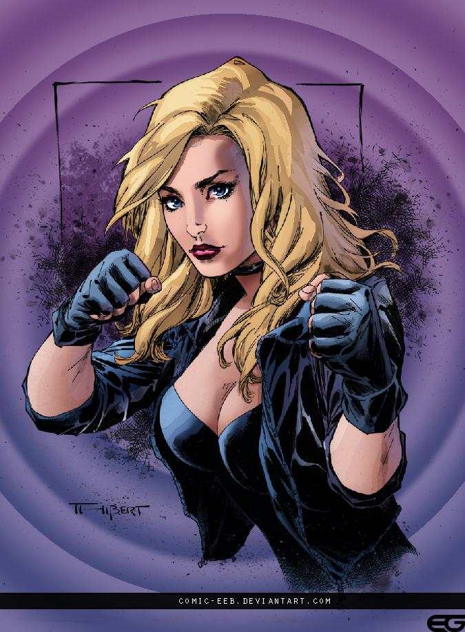 Black Canary by comic-eeb