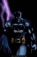 caped crusader by comic-eeb