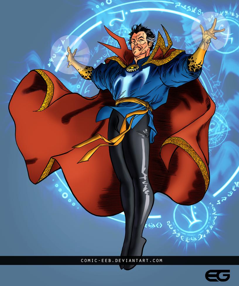 Doctor Strange by comic-eeb