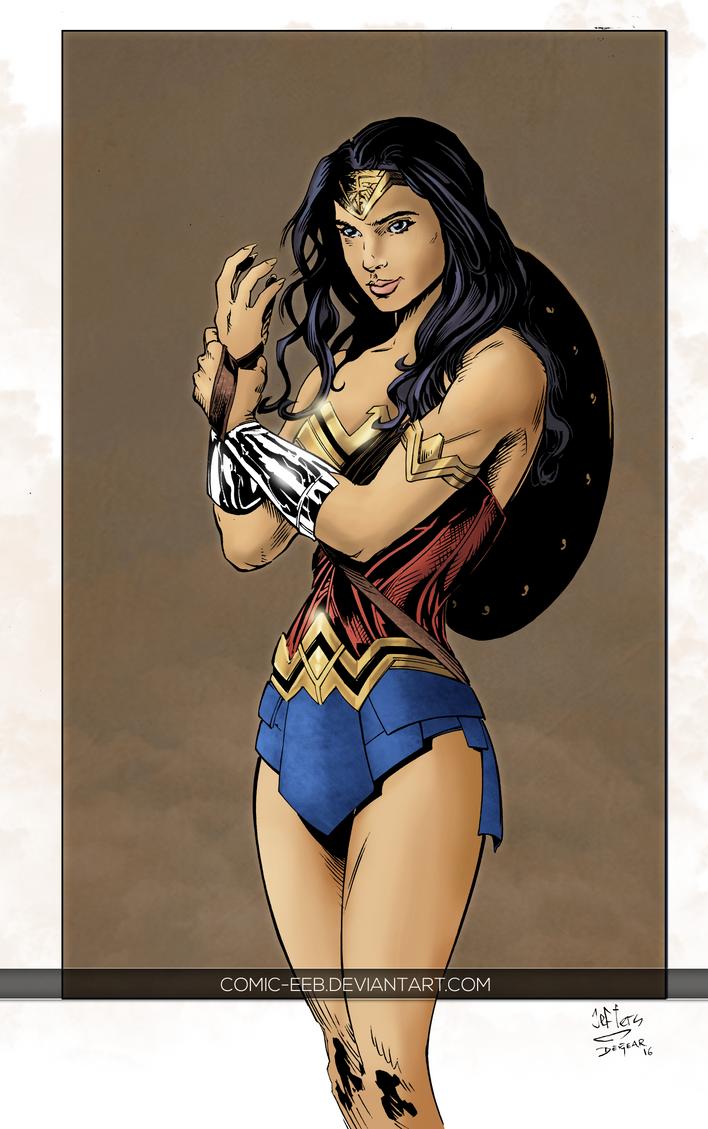 Wonder Woman by comic-eeb