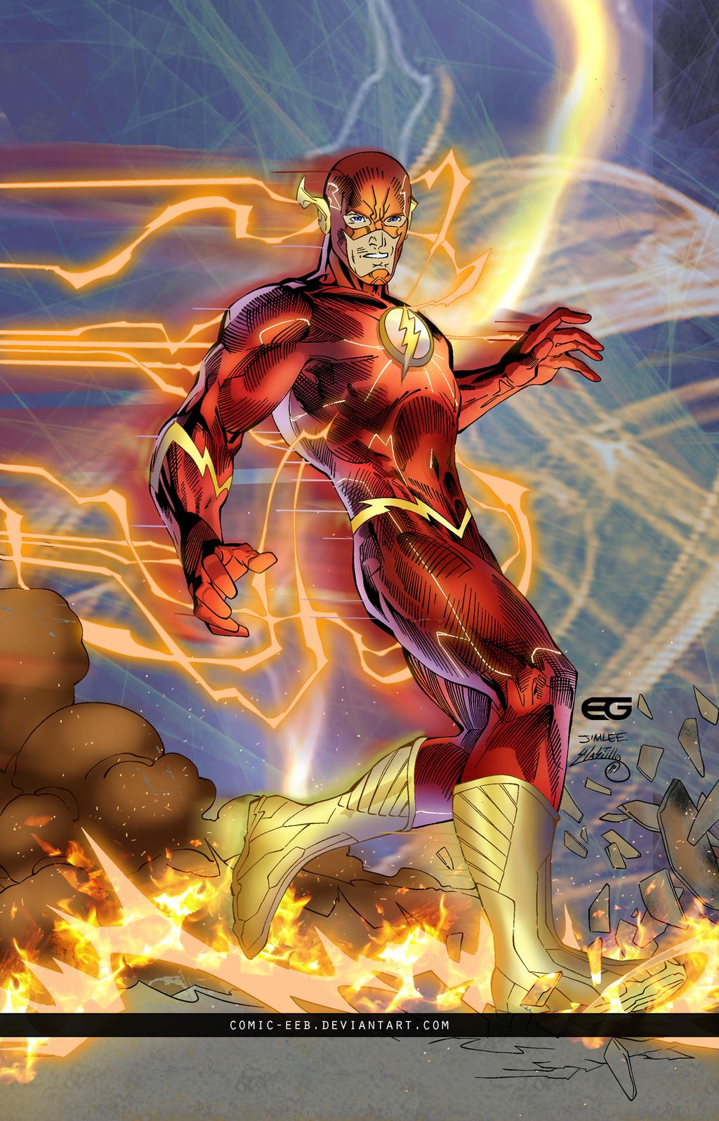 The Flash by comic-eeb