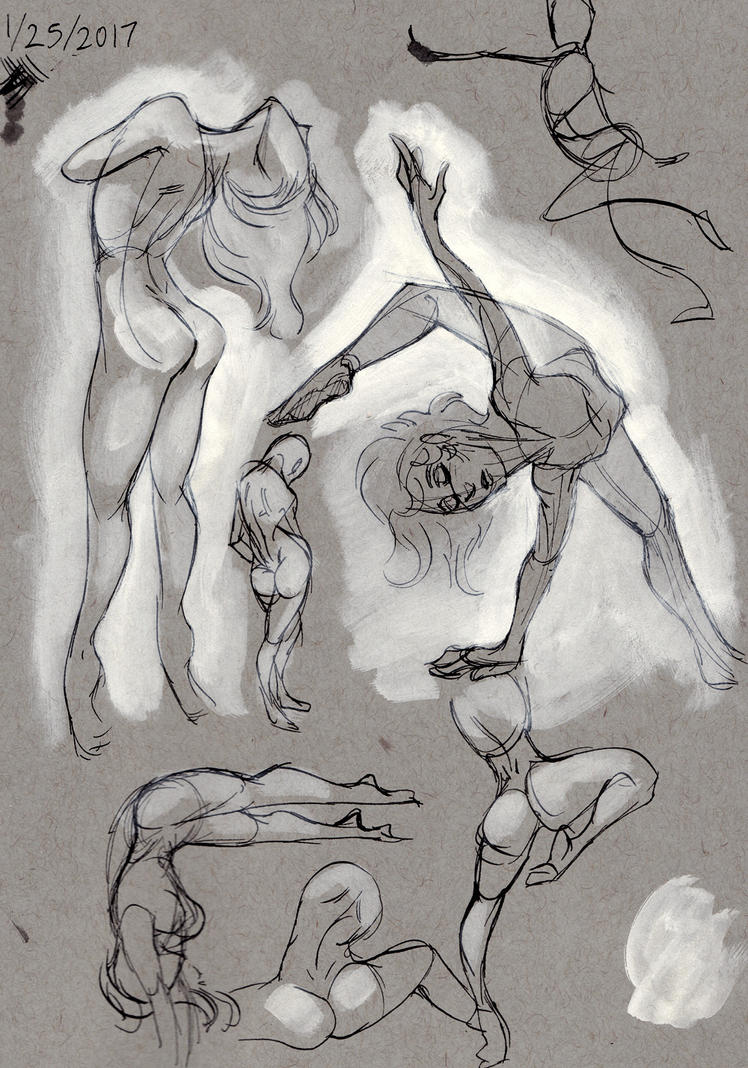 Ballet poses by ceruleus0