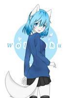Fanart gift for Wolfychu by tohkariichan