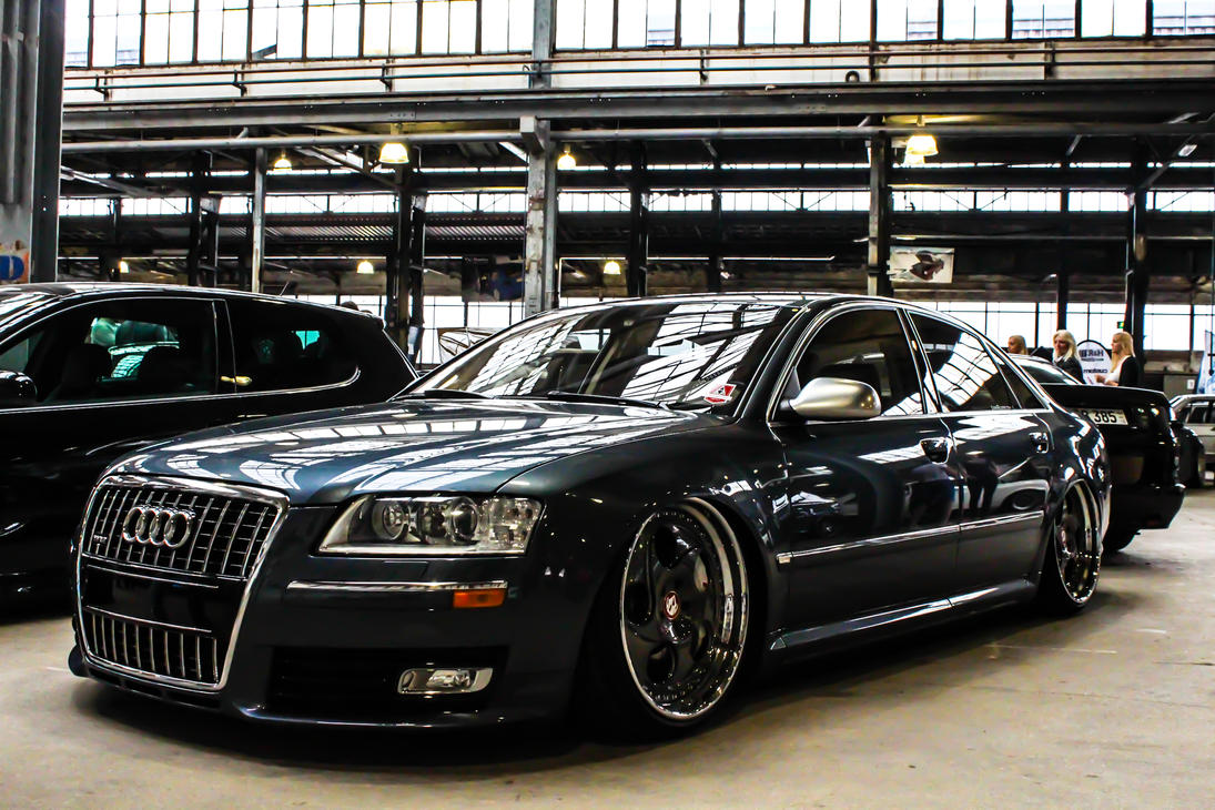 Audi A W By SliQz On DeviantArt - Audi a8 w12