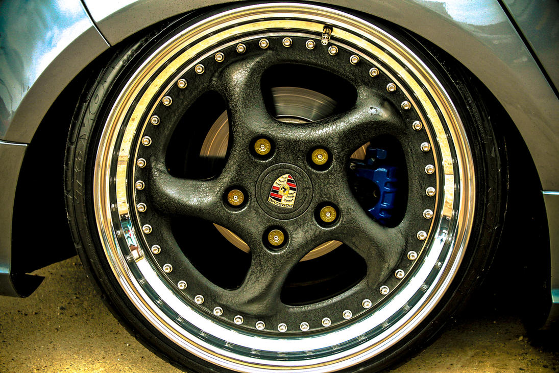 Vw Golf Mk6 Porsche Rims By Sliqz On Deviantart