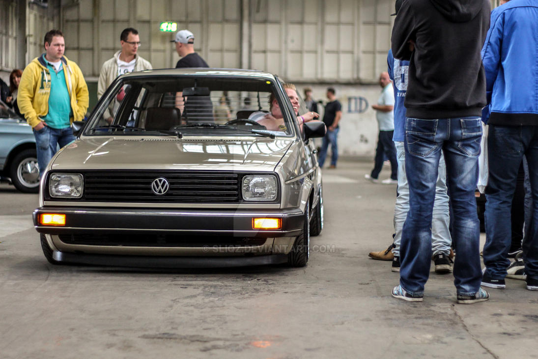 VW Fanatics   Water And Air   Volkswagen Golf 2 By SliQz ...