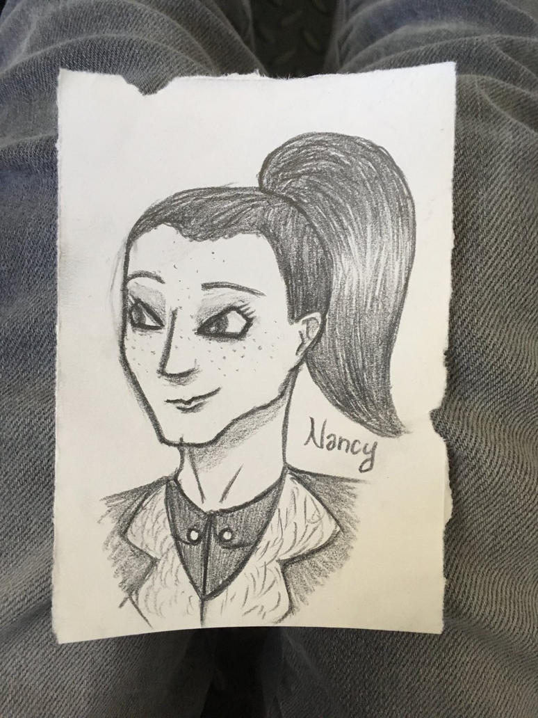 Nancy Sketch by J-Ell