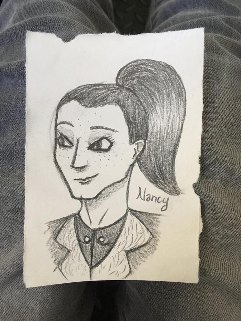 Nancy Sketch by J-Ell