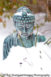 Snowy Buddha by Shattered-Images