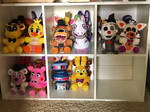 (Update 2) My FNAF Plushie Collection