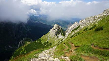 Tatry - Z Giewontu czerwonym szlakiem