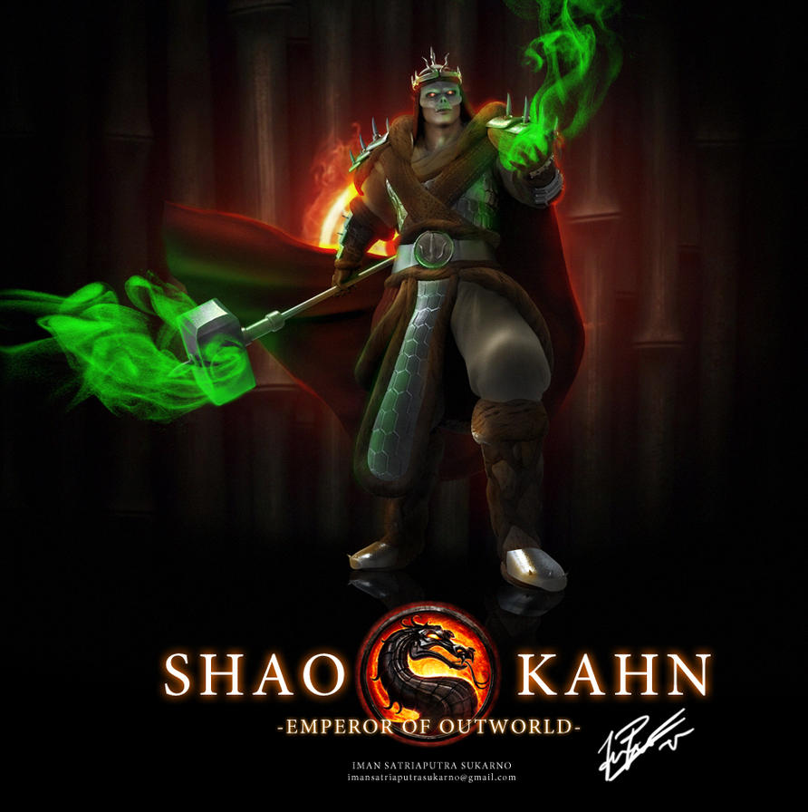Shao Kahn - Redesigned by MnStrptrSkrn