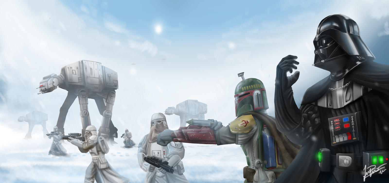 Battlefront: Hoth by MnStrptrSkrn