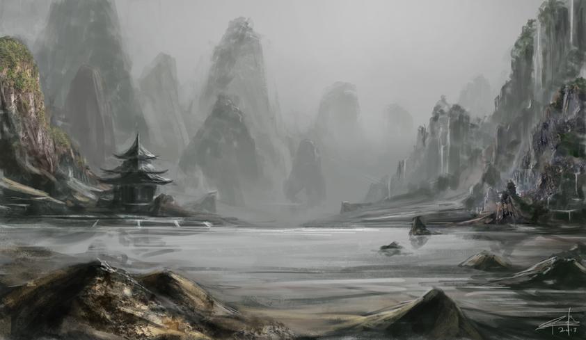 Lake of Memories by maelstromwrath