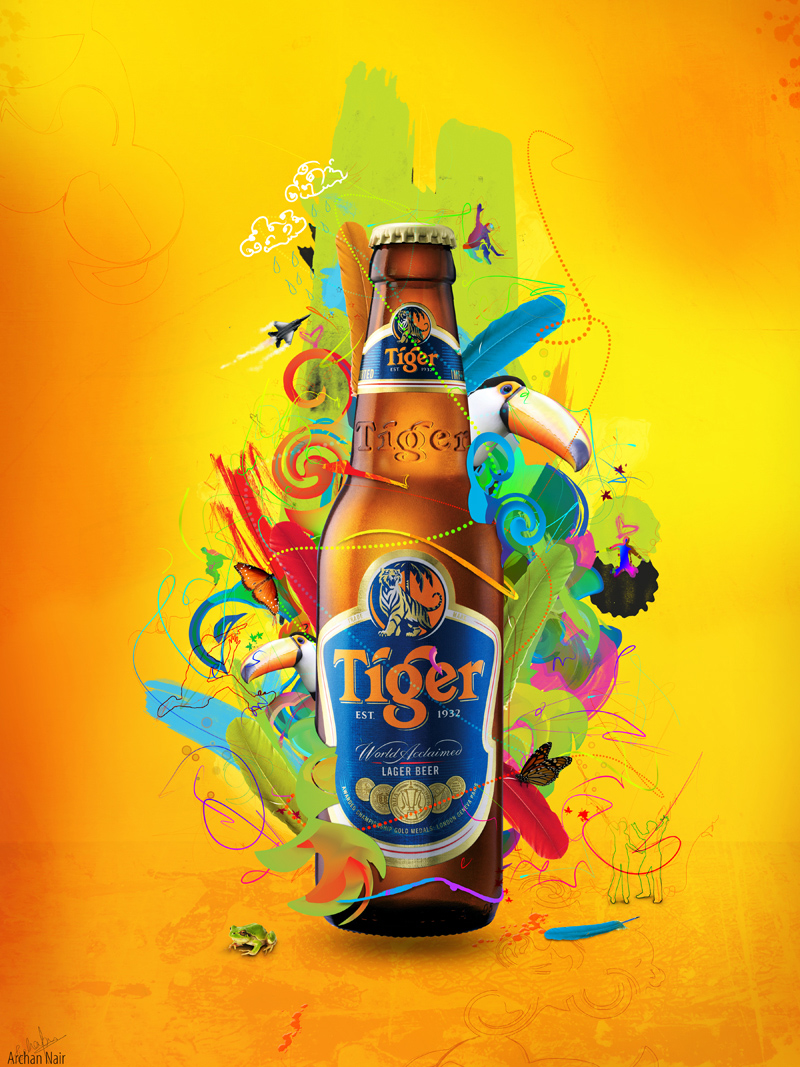 Tiger Beer : Energy