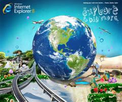 Microsoft - IE8 by archanN