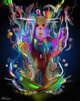 Ethereal Cosmosis