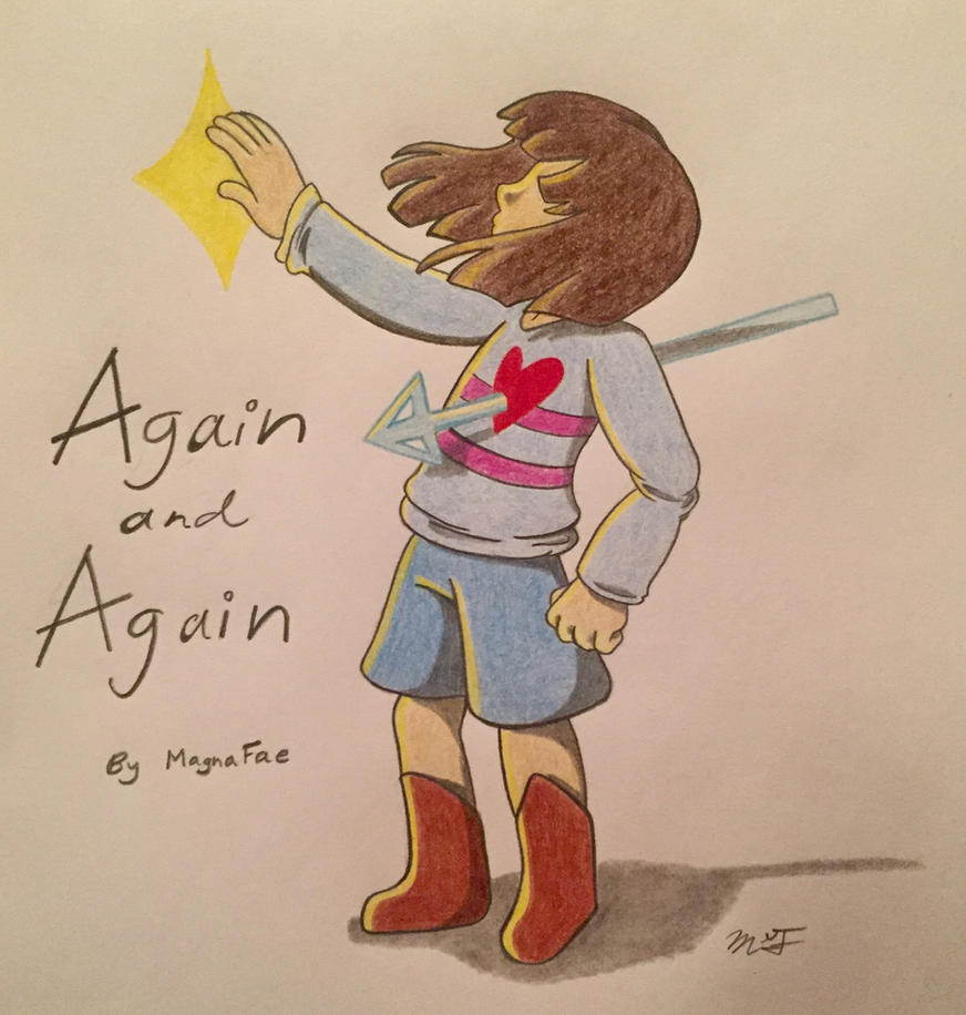 Again and Again Cover by MagnaFae
