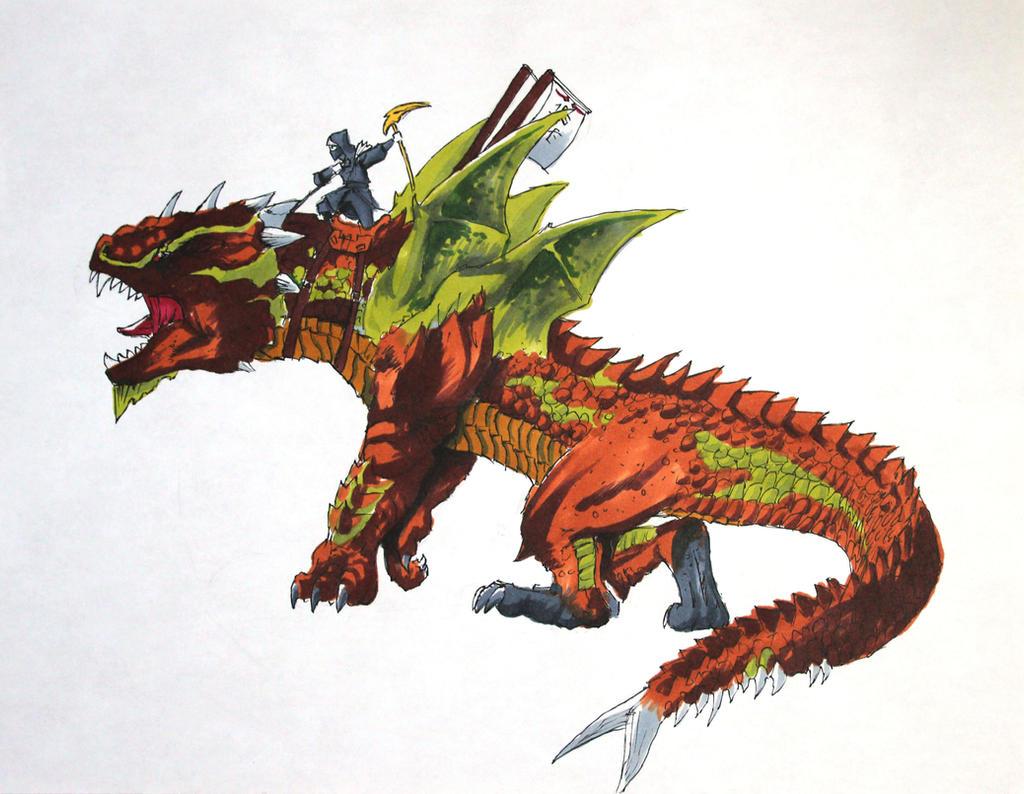 Lego Ninjago Dragon Earth Dragon- Ninjago by