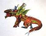 Earth Dragon- Ninjago