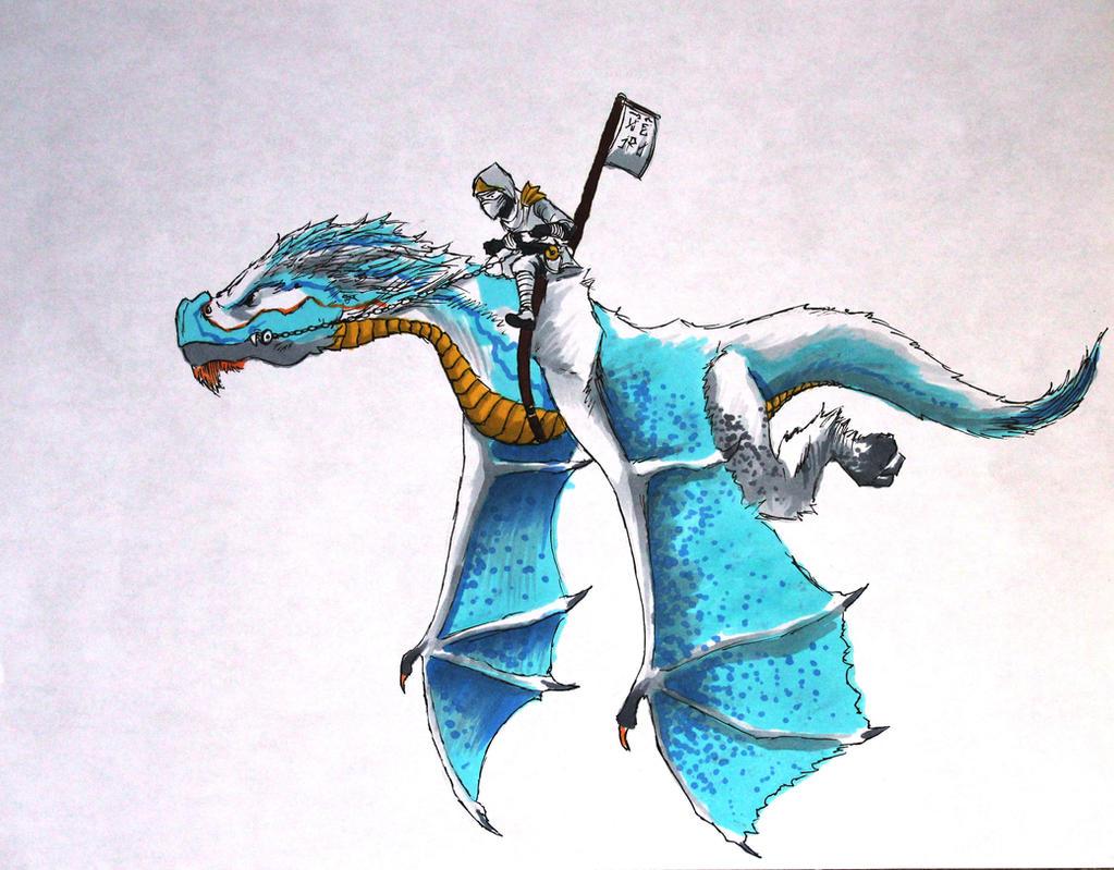 Ice Dragon- Ninjago by joshuad17 on DeviantArt
