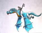 Ice Dragon- Ninjago