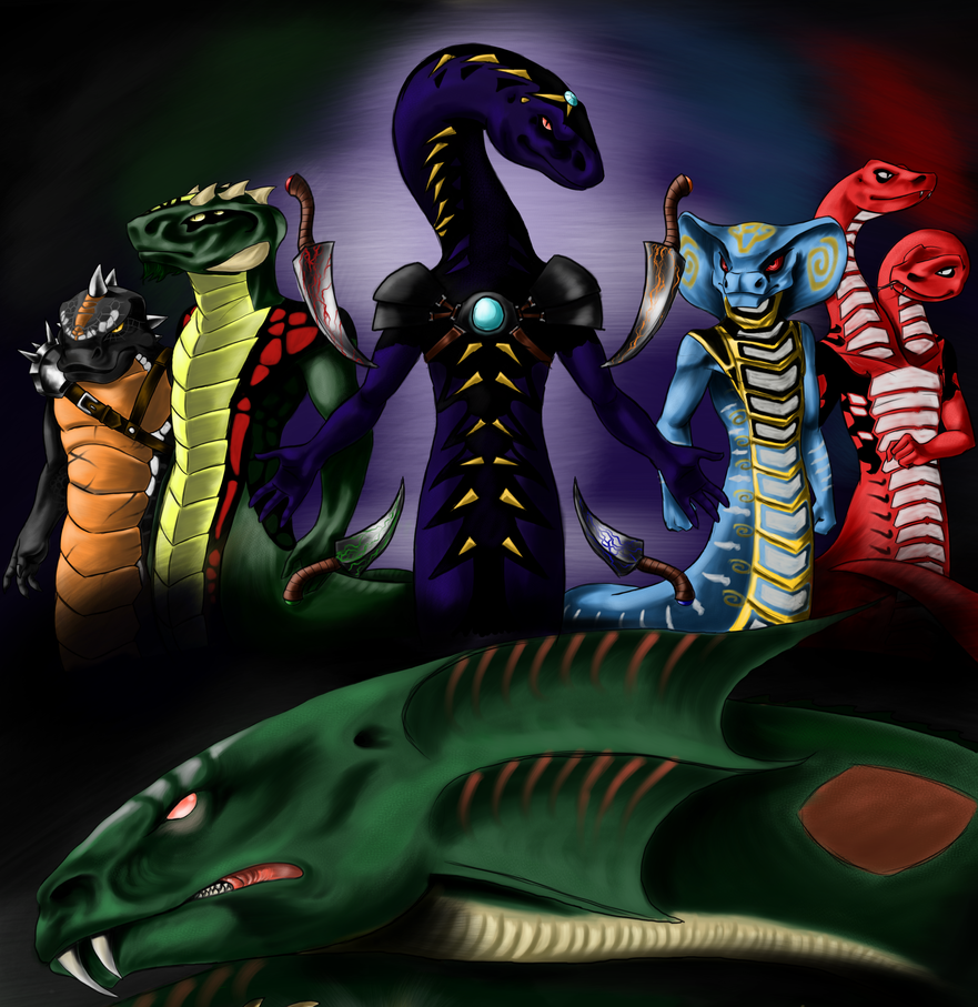 The Serpentine by joshuad17 on DeviantArt 4 Snake Tribes Of Ninjago