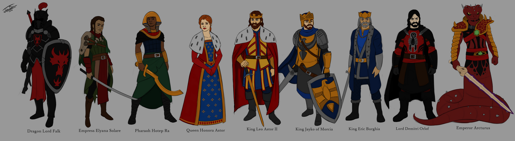 The Second Rulers of Aurum by joshuad17