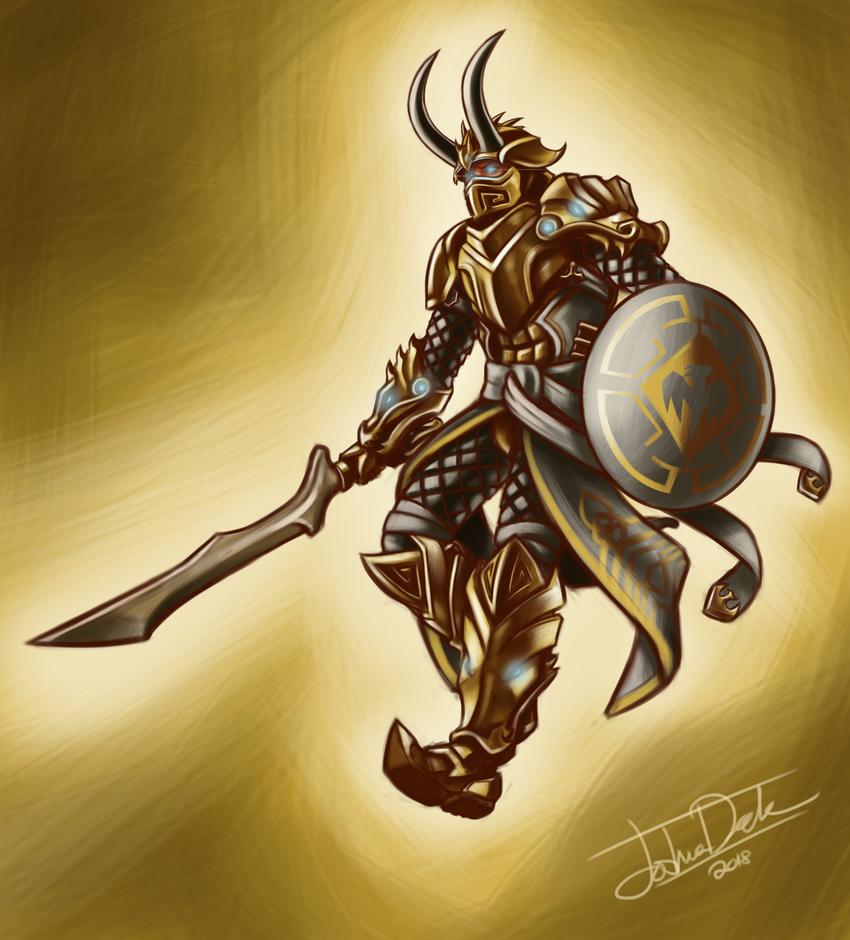 Golden Dragon Master By Joshuad17 On Deviantart