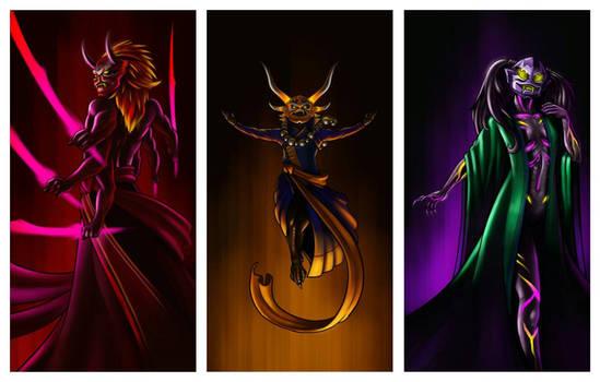 Oni: Venge, Decer, and Ha-eed